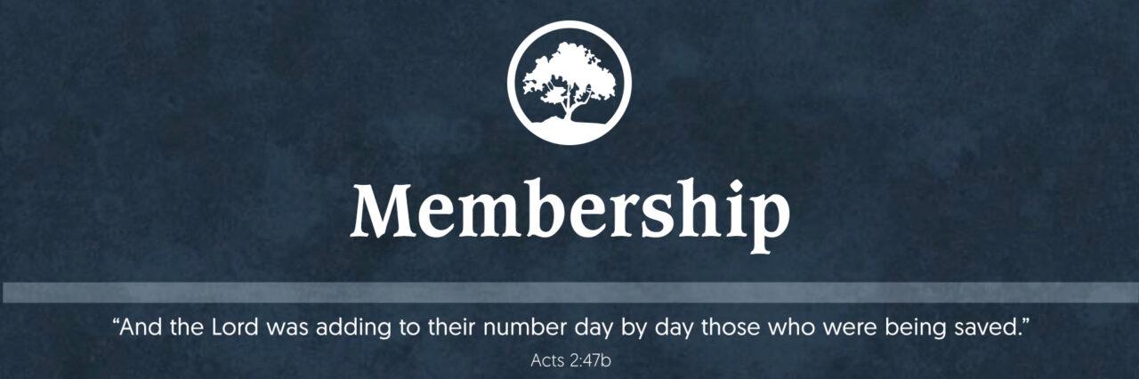 Membership Home Header