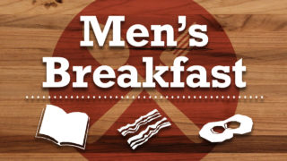 Promo mens breakfast Announcement